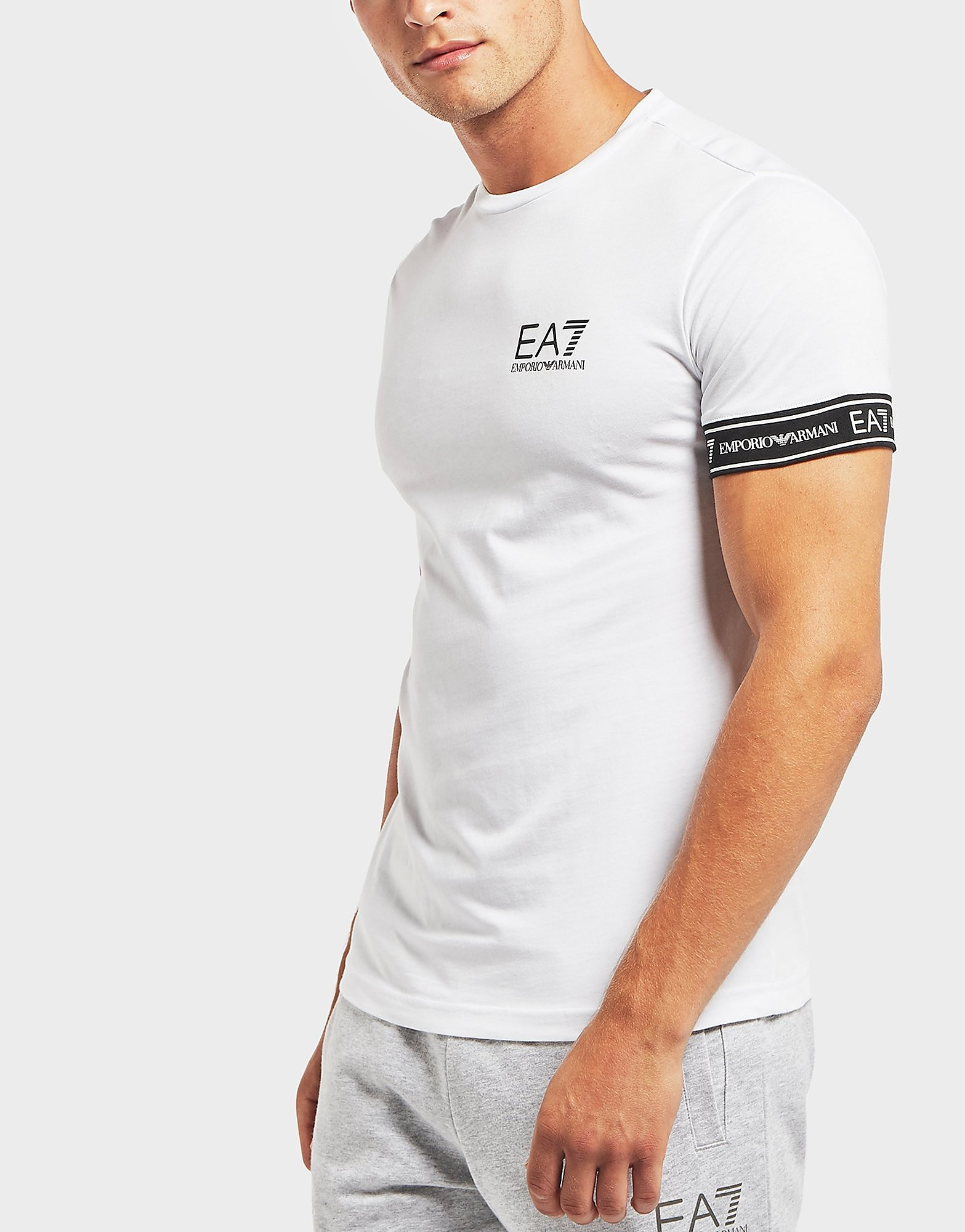 Emporio Armani EA7 Tape Cuff Short Sleeve T-Shirt