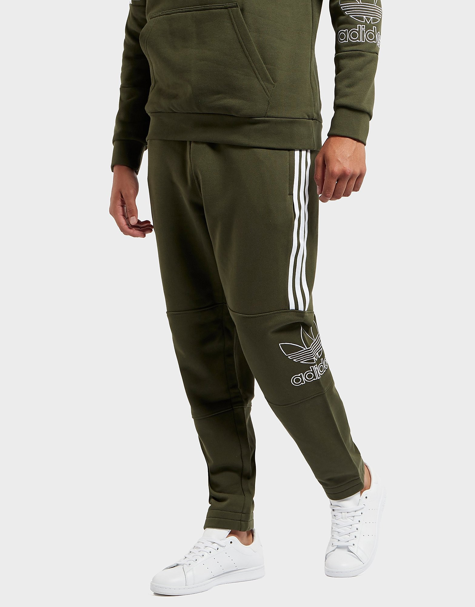 adidas originali pantaloni della tuta scotts maschili