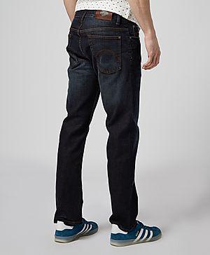 Pretty Green LG Straight Fit Jeans