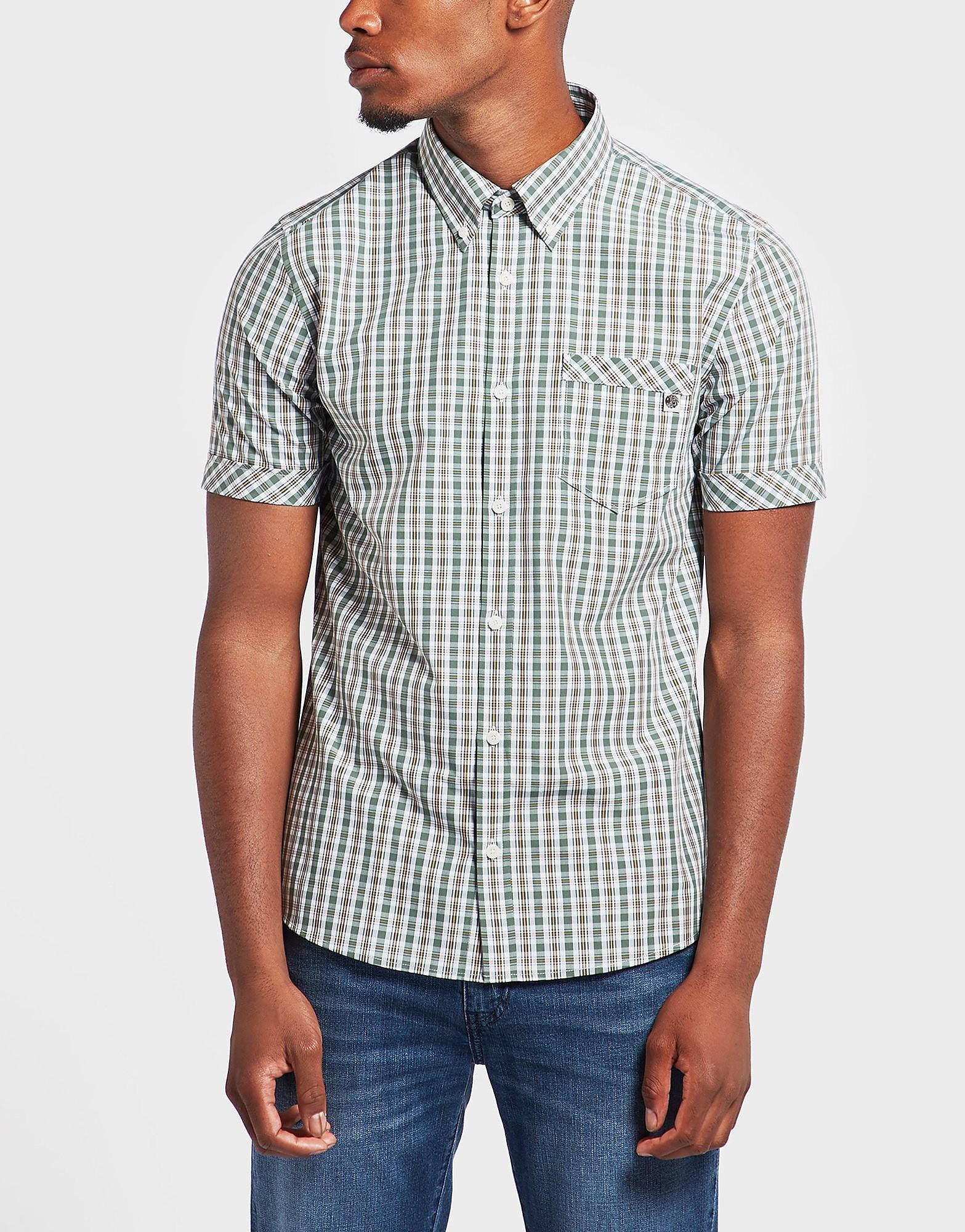 Pretty Green Rosehill Check Short Sleeve Shirt