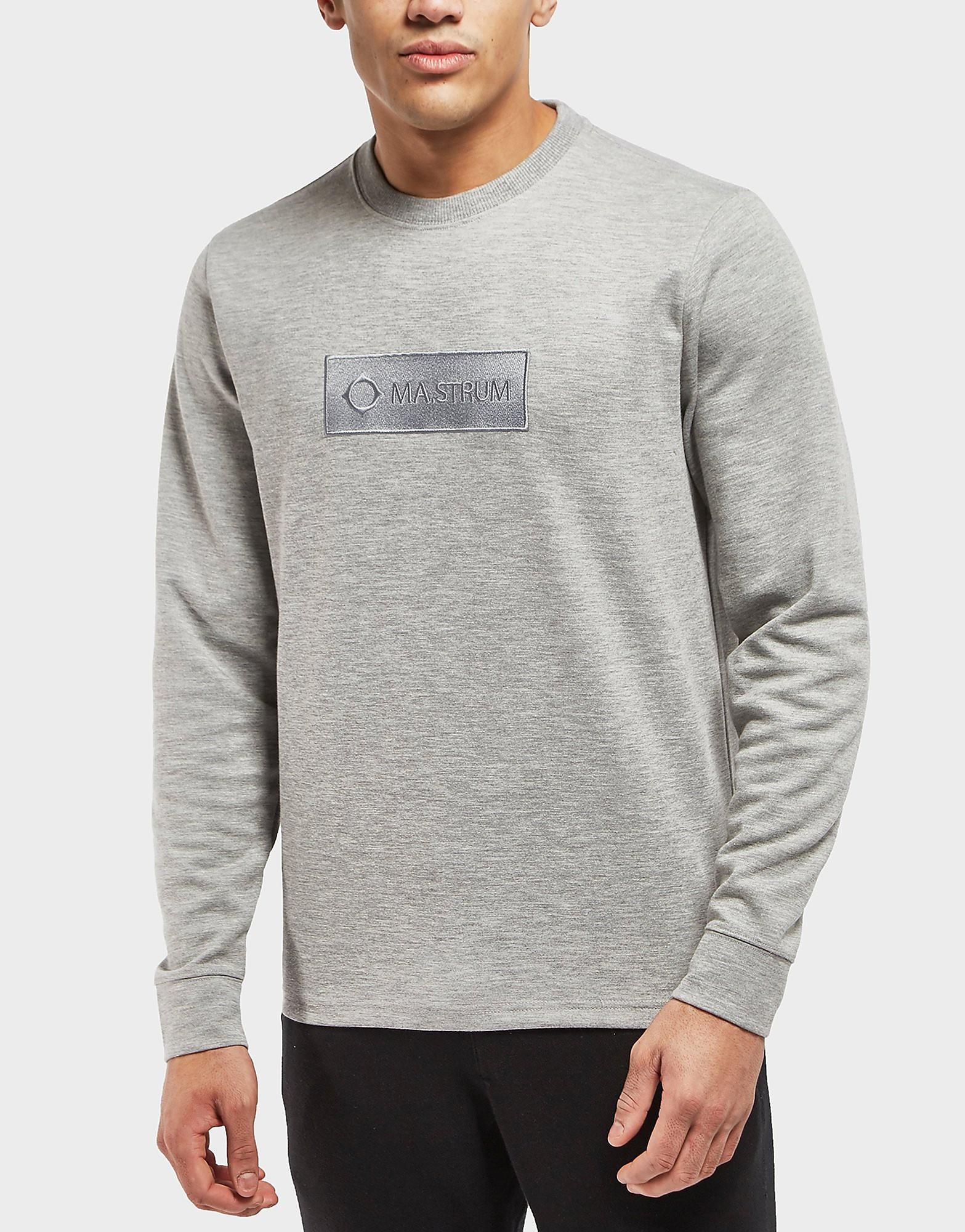 MA STRUM Box Logo Crew Sweatshirt