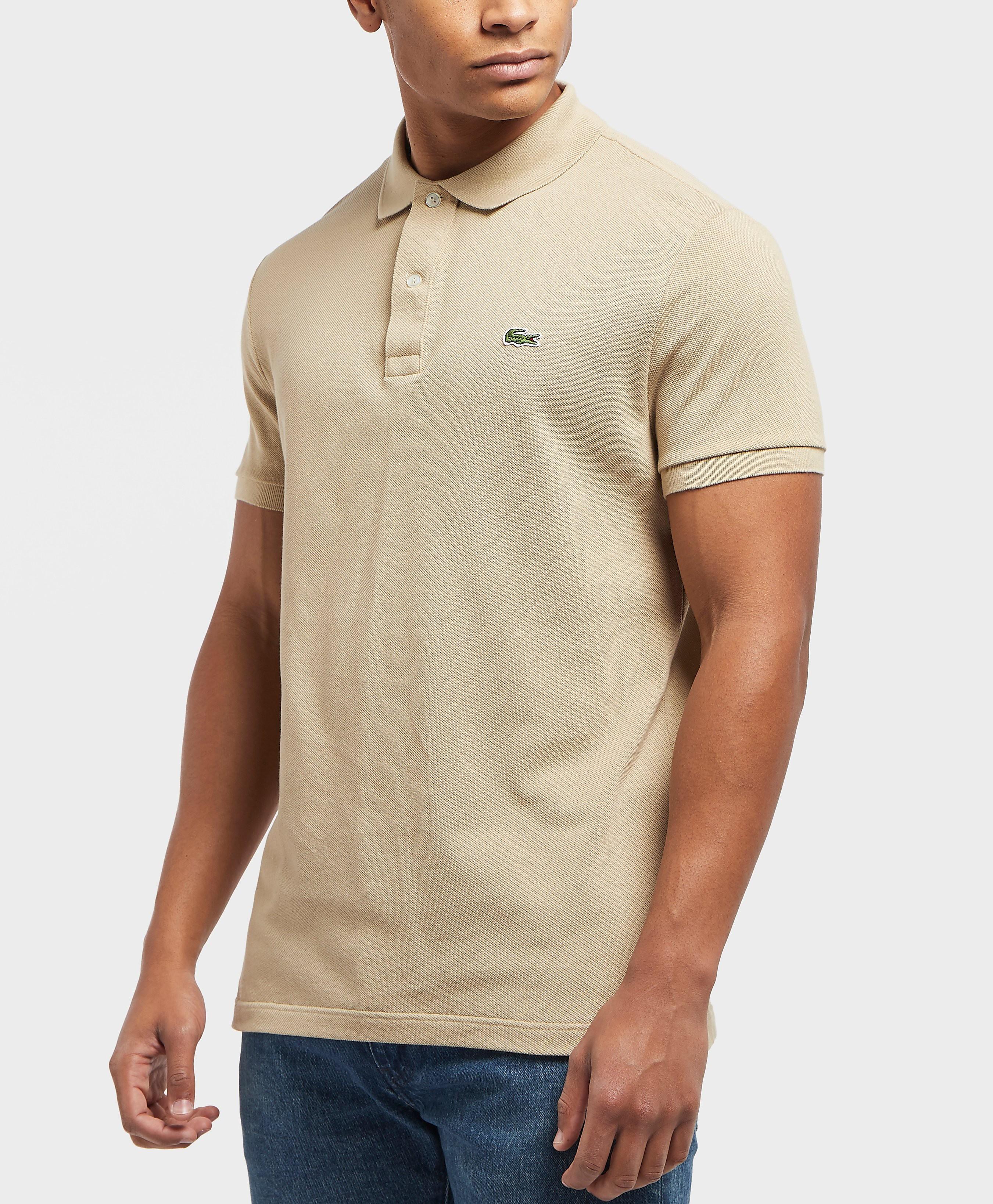 Lacoste L1212 Slim Short Sleeve Polo Shirt