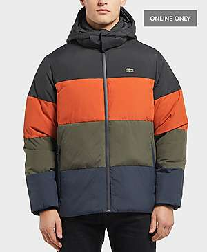 7f0a1ec5ca2c Lacoste Colour Block Padded Jacket ...