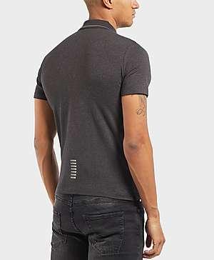 0e441a75153 ... Emporio Armani EA7 Core Jersey Short Sleeve Polo Shirt