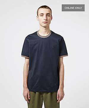 635adaa43fa Aquascutum Mercer Short Sleeve Tipped T-Shirt ...