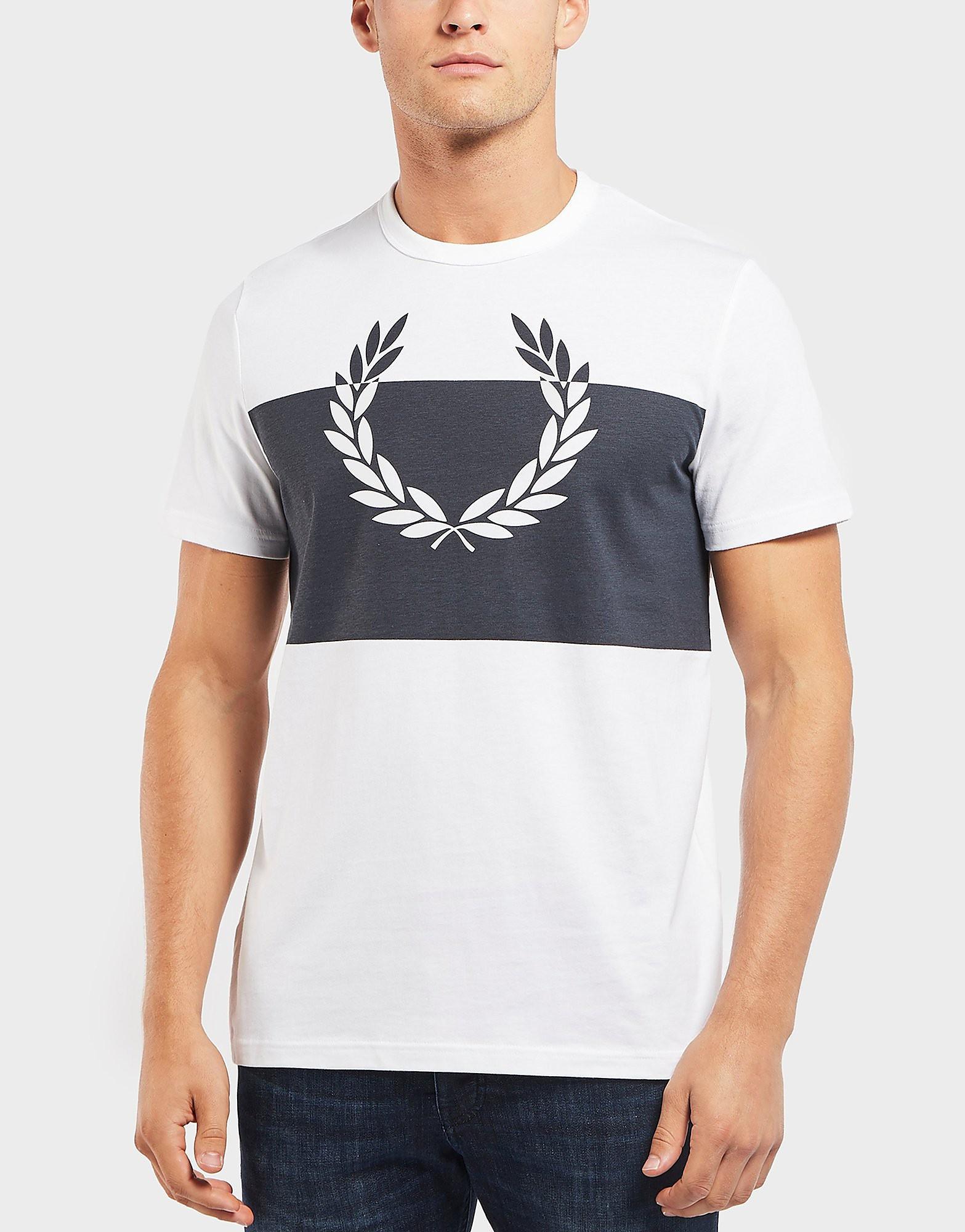 Fred Perry Laurel Block Short Sleeve T-Shirt