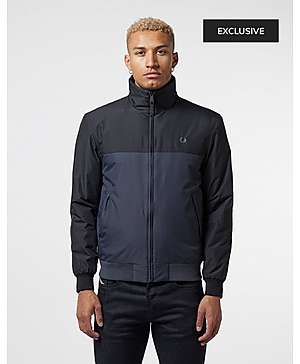 45c9f9fee41 Fred Perry Colour Block Brentham Jacket - Exclusive ...