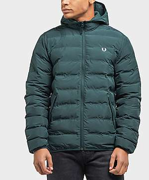 Fred Perry Bubble Hooded Jacket ... fa28959a6a56