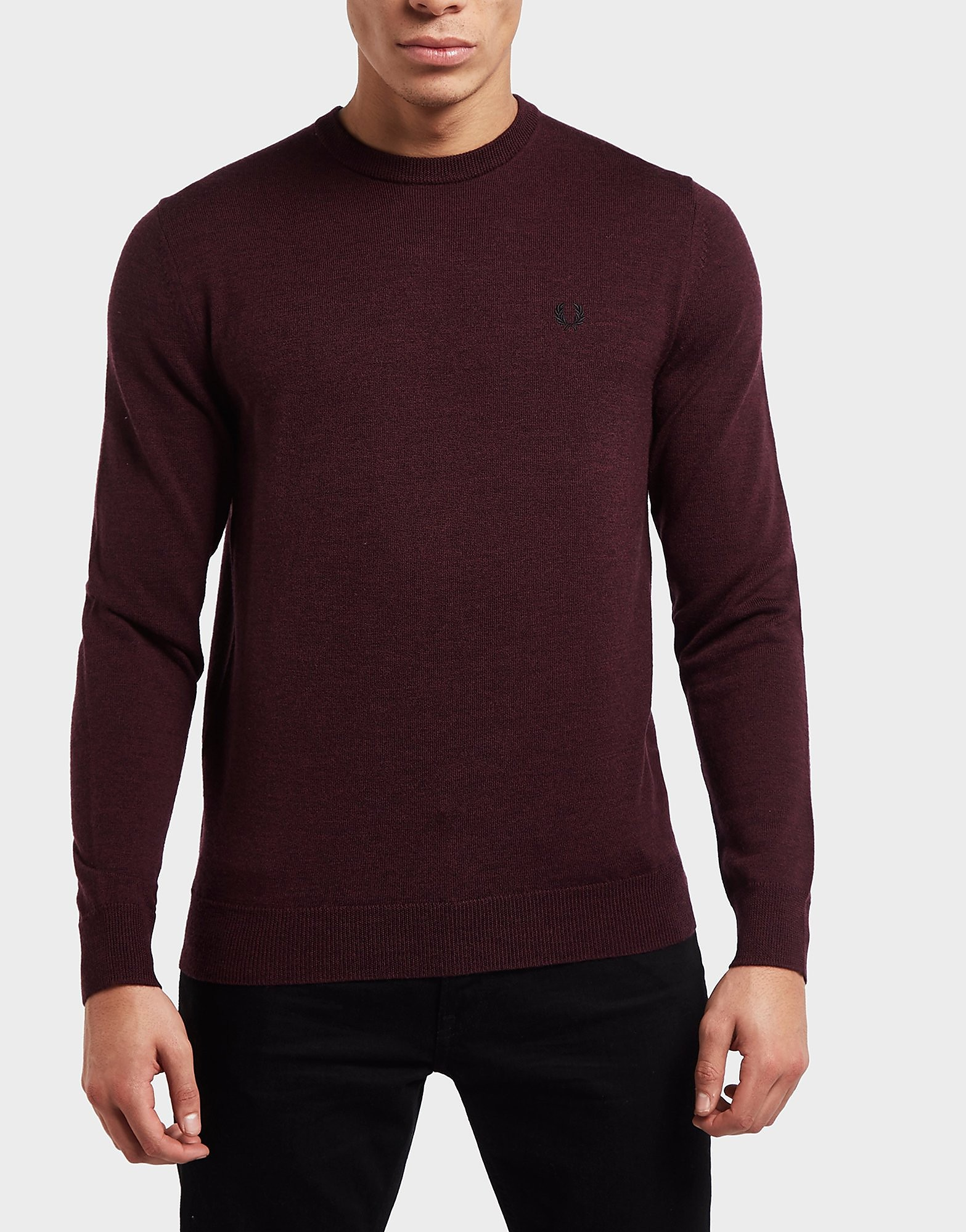 Fred Perry Merino Knitted Jumper
