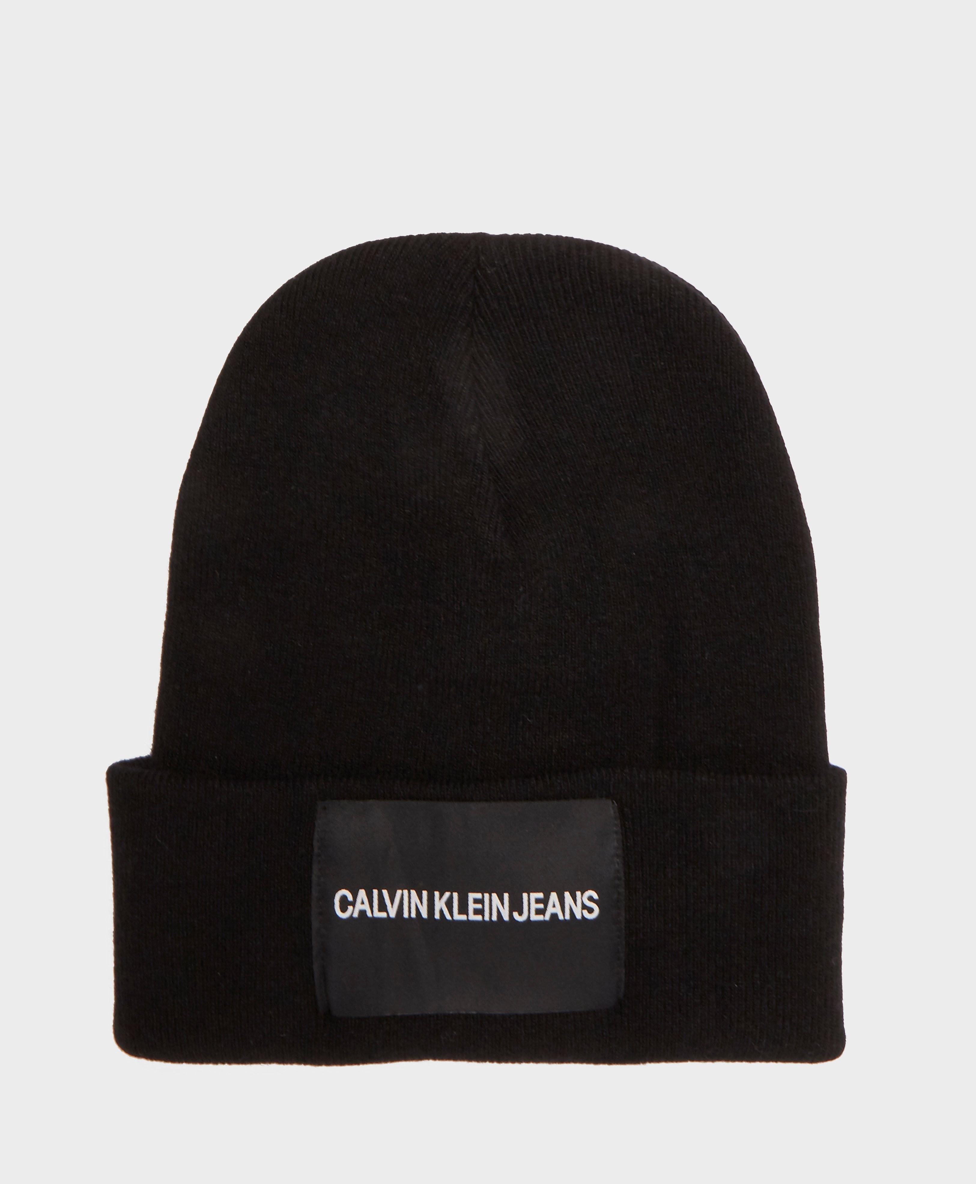 Calvin Klein Patch Beanie