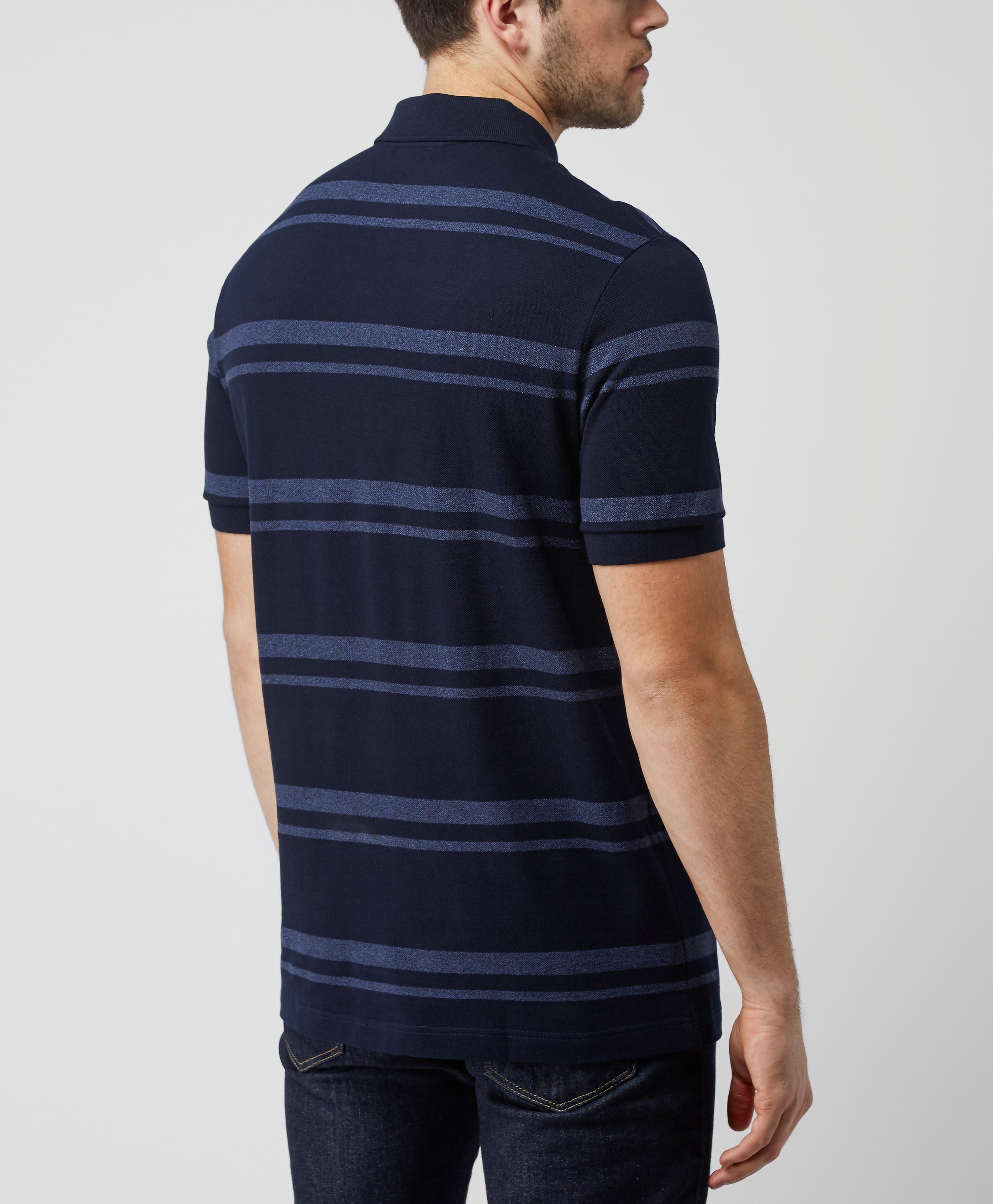 Lacoste Pique Stripe Polo Shirt