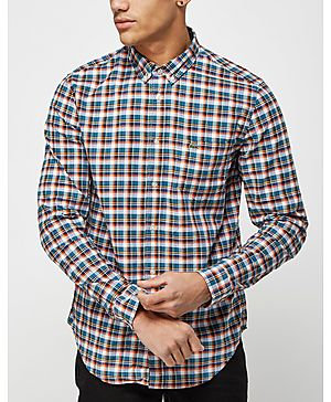 Lacoste Long Sleeve Multi Check Shirt