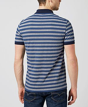 Lacoste Stripe Contrast Fabric Polo Shirt
