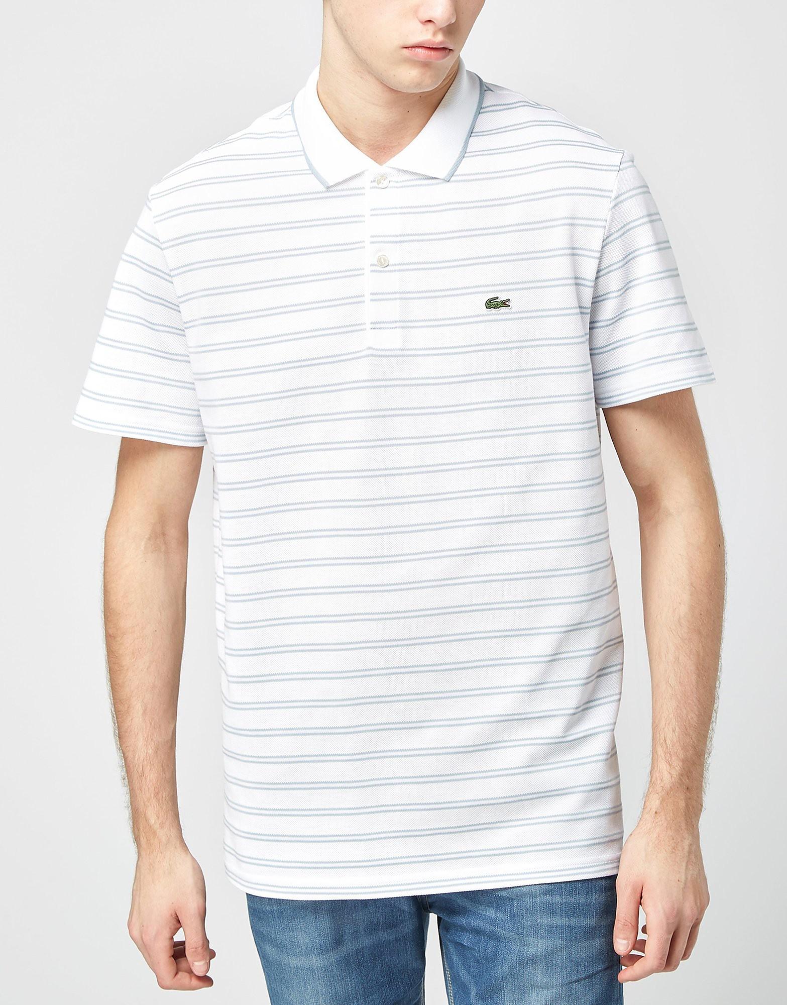 Lacoste Stripe Jersey Polo Shirt
