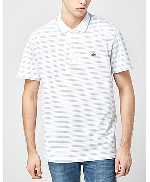 Lacoste Stripe Jersey Polo Shirt