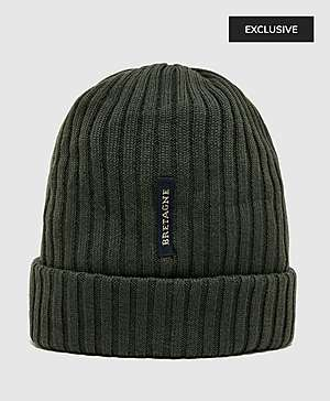 7cec6cc3d8d ... Paul and Shark Ribbed Knitted Logo Beanie