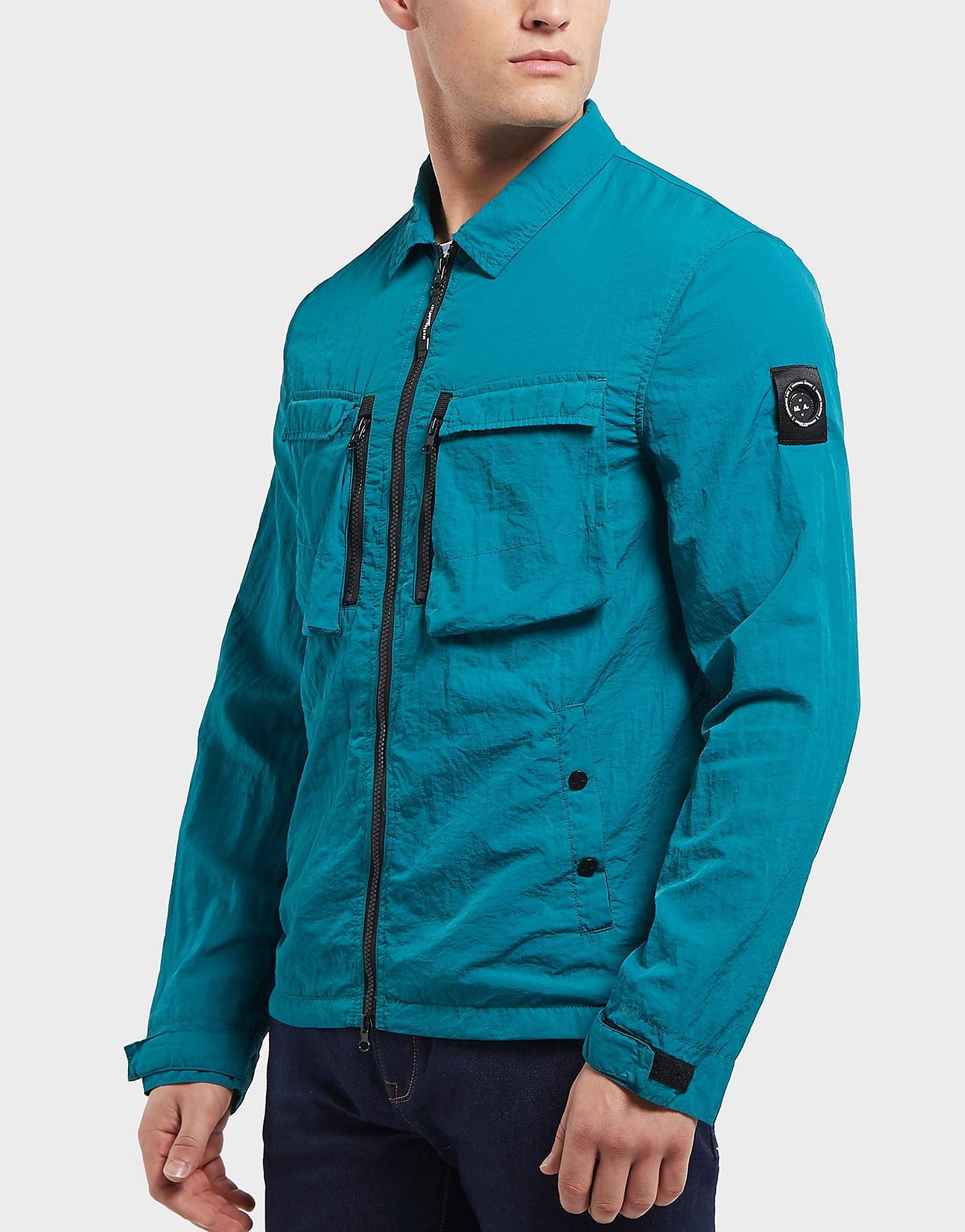 Marshall Artist Garment Dyed Full Zip Overshirt