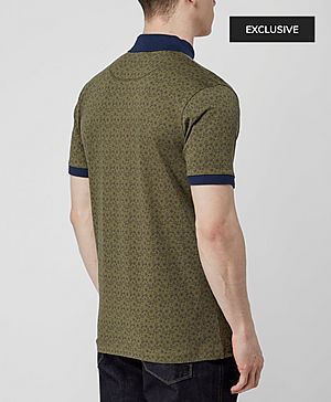 Pretty Green Paisley Polo Shirt - Exclusive