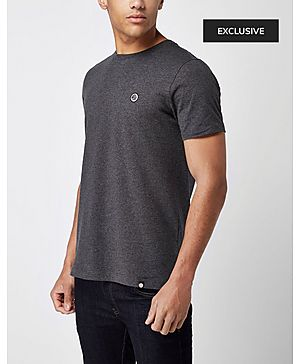 Pretty Green S&P Marl Crew Neck T-Shirt - Exclusive