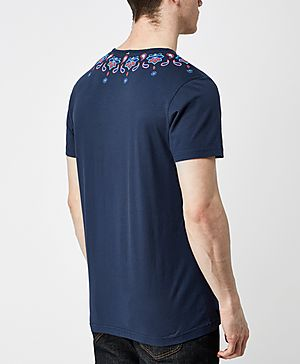 Pretty Green Elsdon Paisley T-Shirt