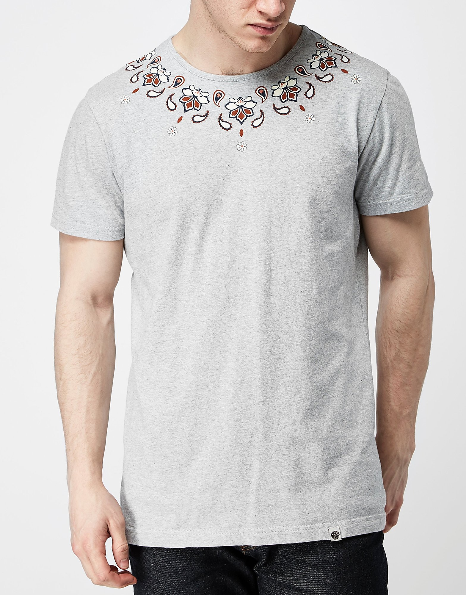 Pretty Green Elsdon Paisley T-Shirt