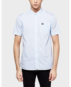 Pretty Green Gingham Short Sleeve Shirt - Exclusive