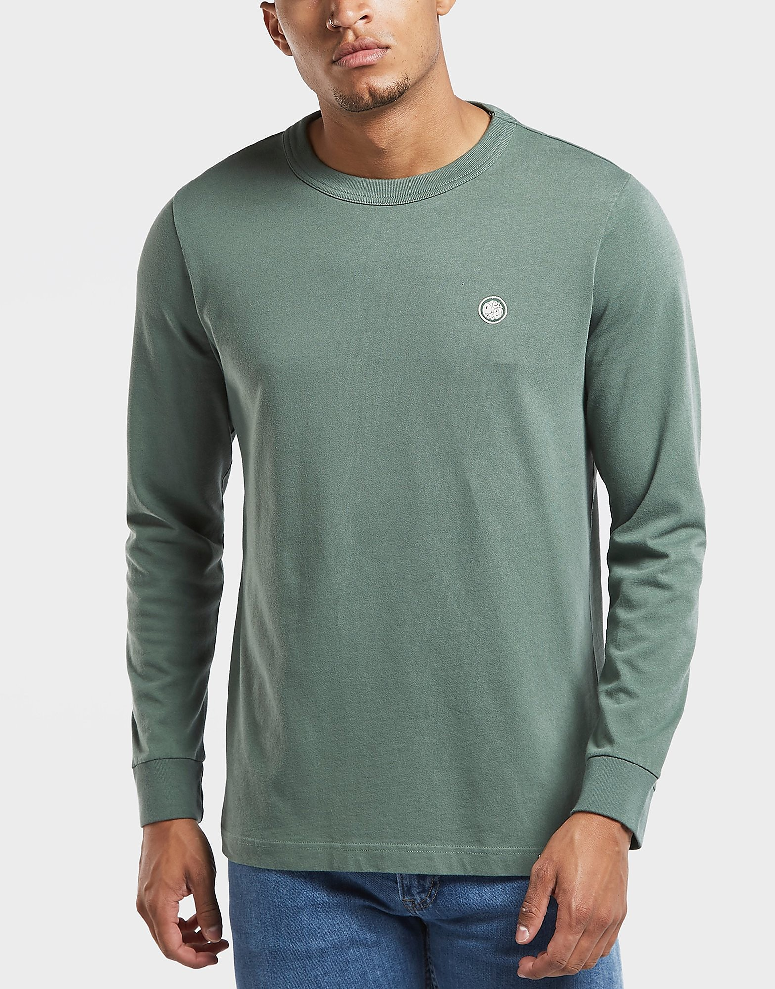 Pretty Green Marsden Long Sleeve T-Shirt - Online Exclusive