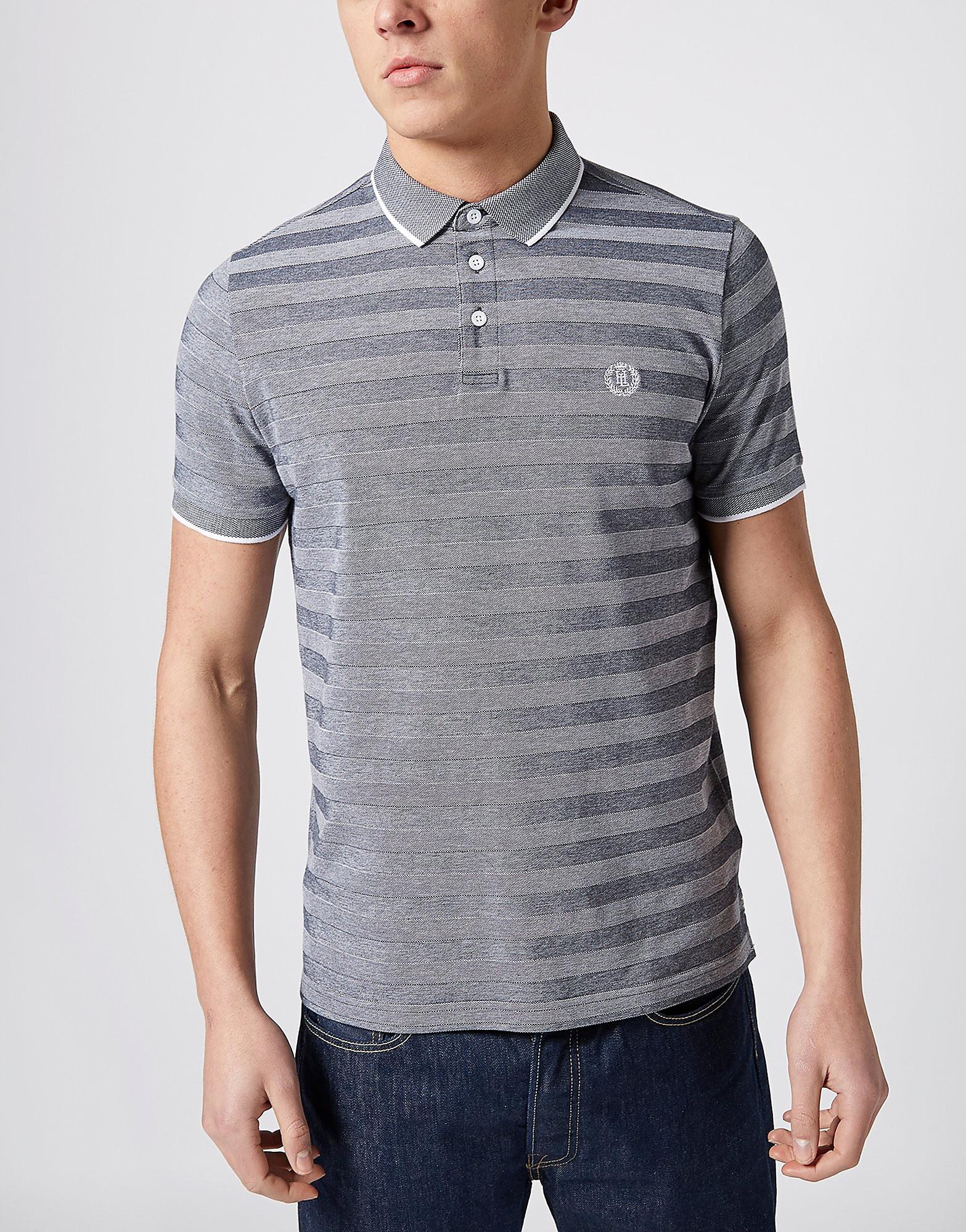 Henri Lloyd Caston Stripe Pique Polo Shirt