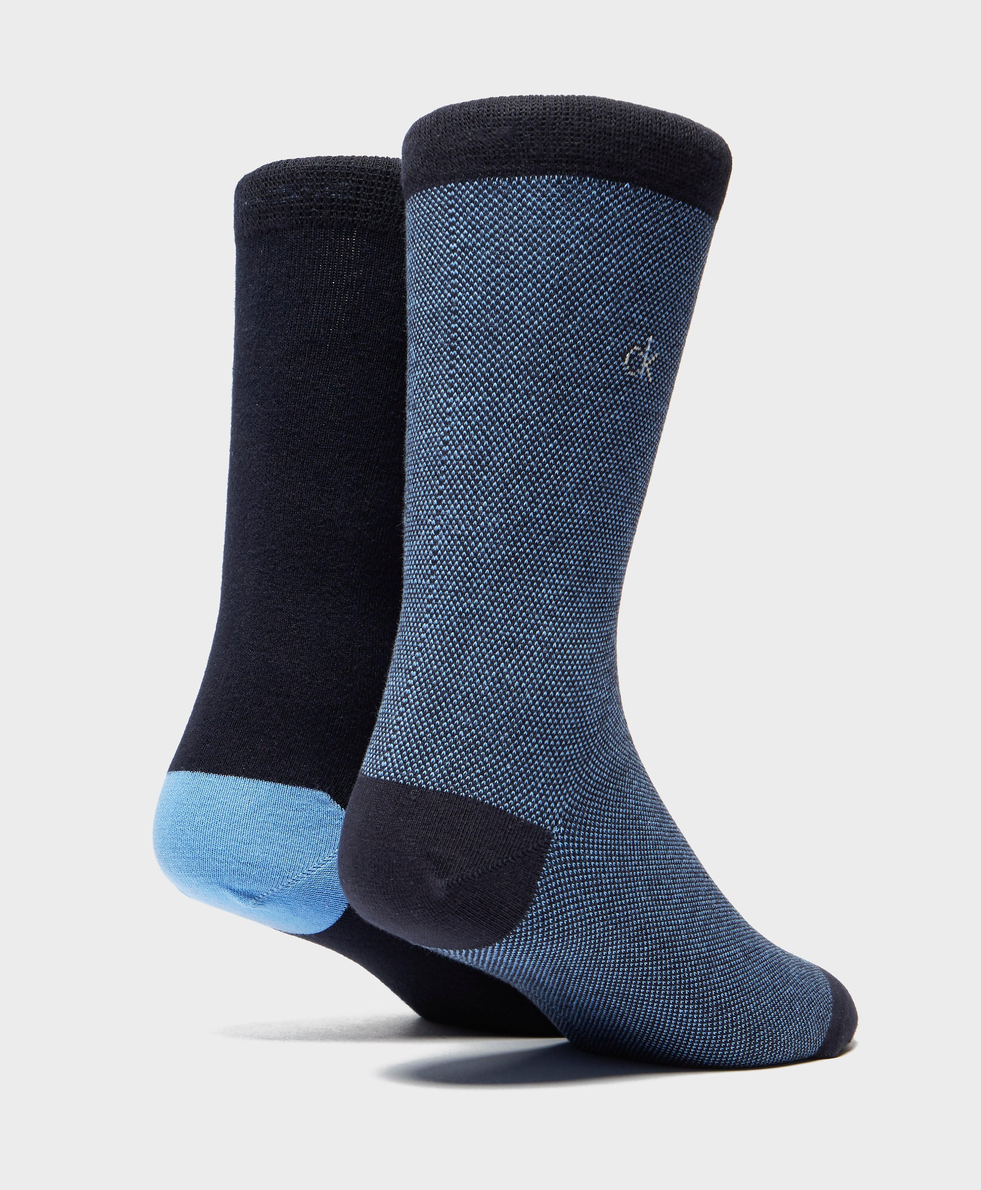 Calvin Klein 2-Pack Birds Eye Socks