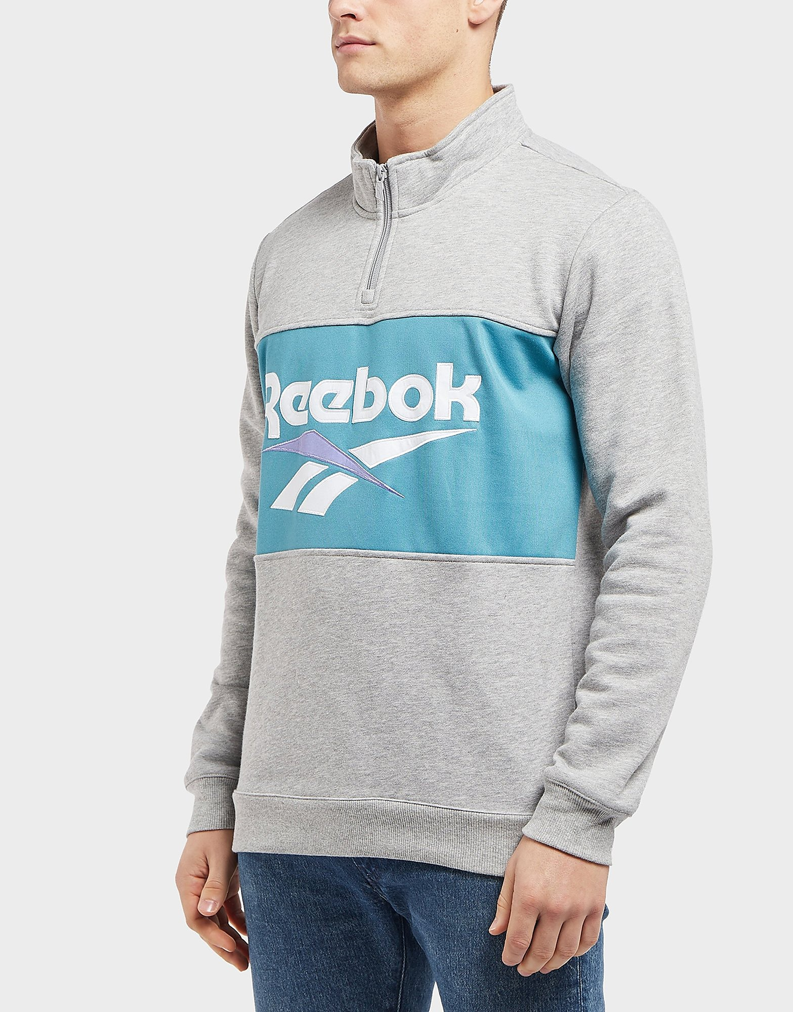 Reebok Vector 1/2 Zip Fleece Sweatshirt