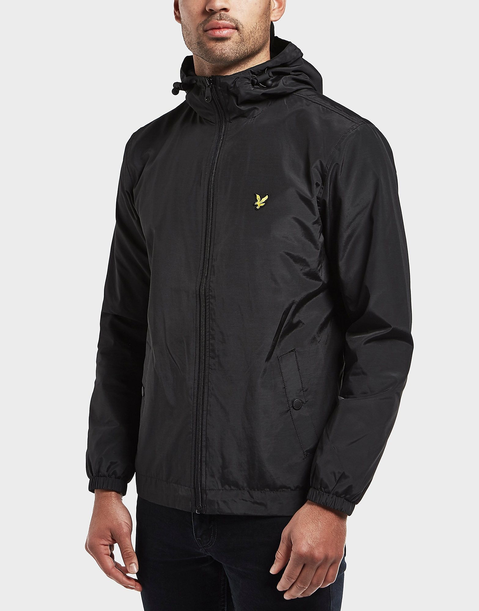 Lyle & Scott Full Zip Hooded Lightweight Jacket