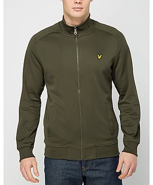 Lyle & Scott Tricot Track Top
