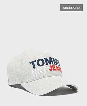 b1a0bbab62ea3 Tommy Jeans Flock Logo Cap - Online Exclusive ...