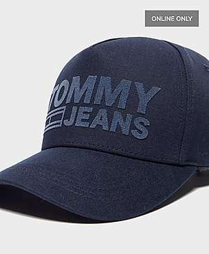 c68a279e068f2 ... Tommy Jeans Flock Logo Cap - Online Exclusive