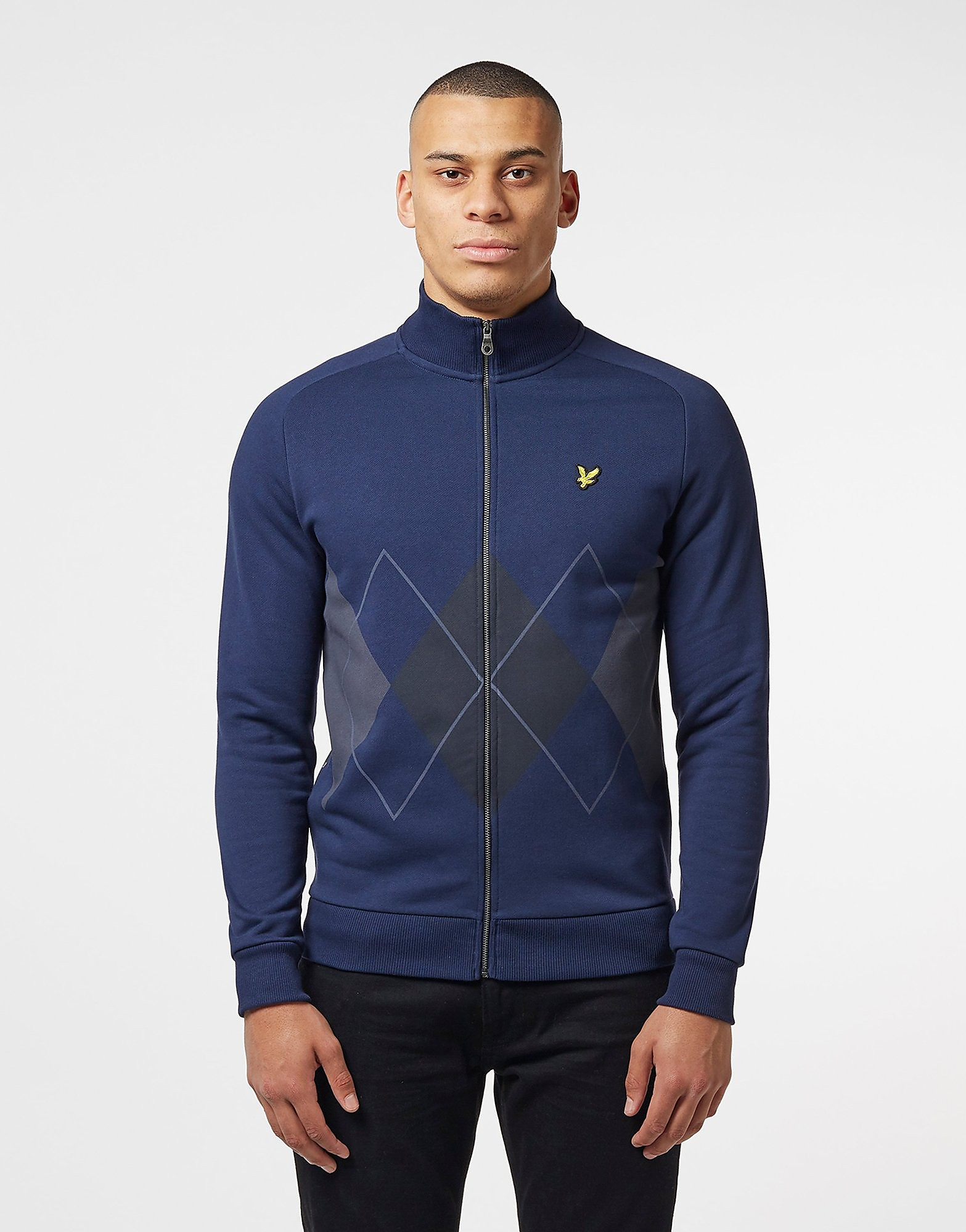 Lyle & Scott Argyle Full Zip Track Top