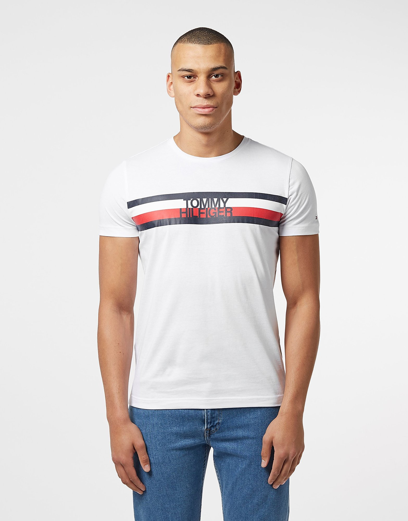 Tommy Hilfiger Flag Logo Short Sleeve T-Shirt