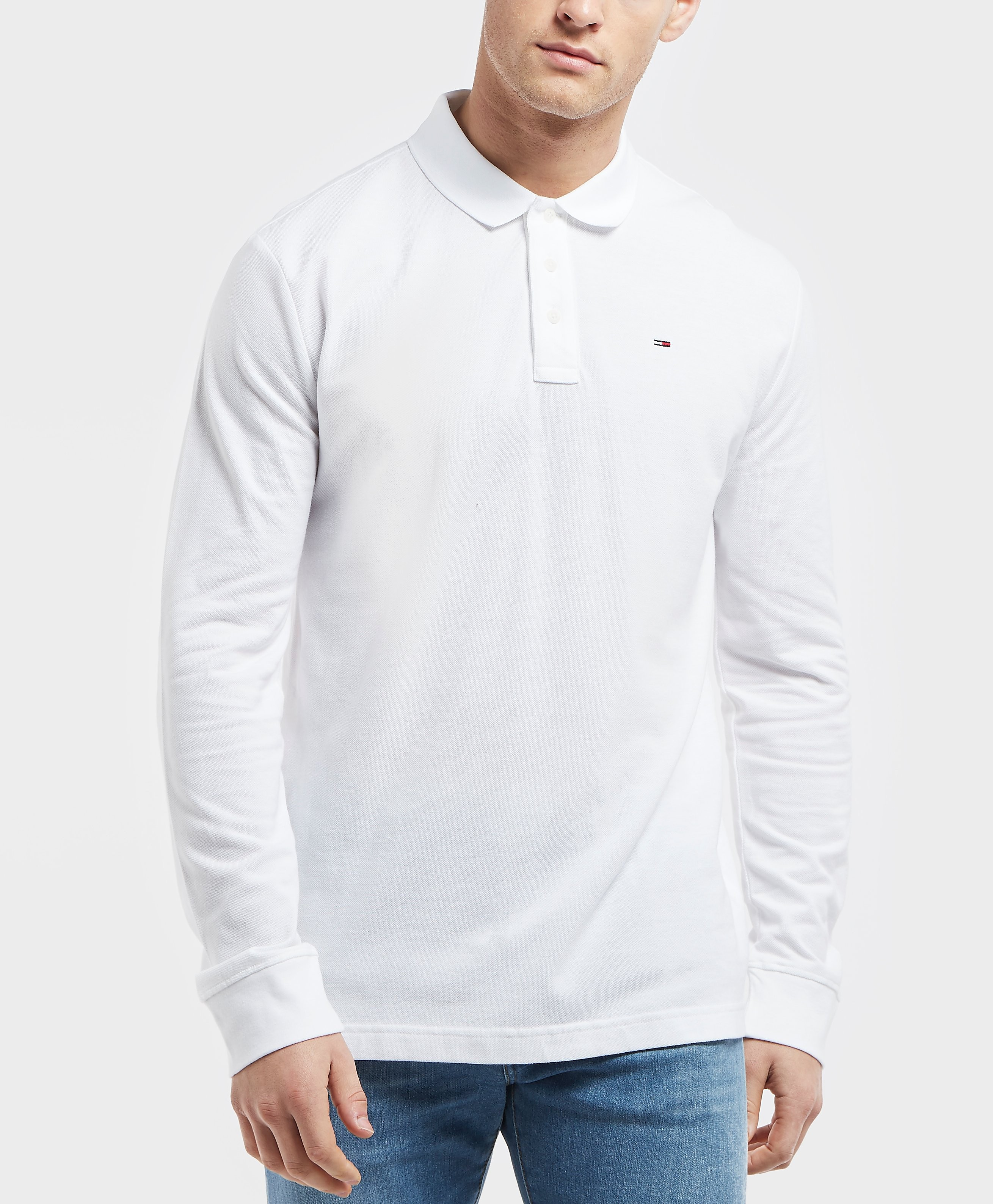 Tommy Jeans Essential Long Sleeve Polo Shirt