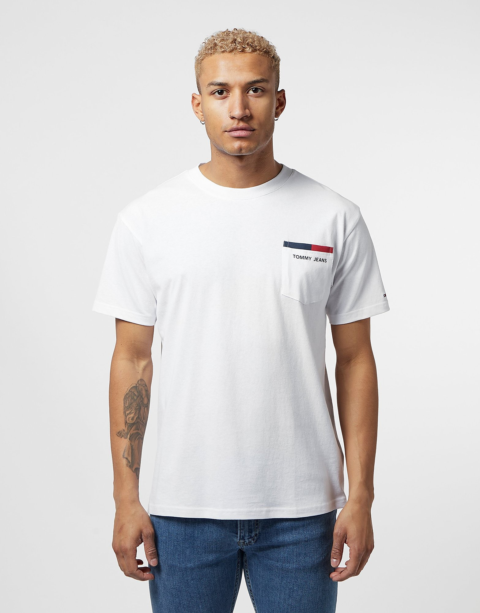Tommy Jeans Back Logo Short Sleeve T-Shirt