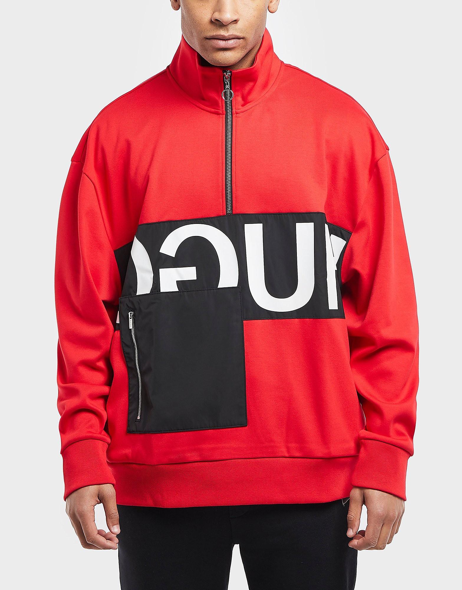 HUGO Darrius Quarter Zip Sweatshirt