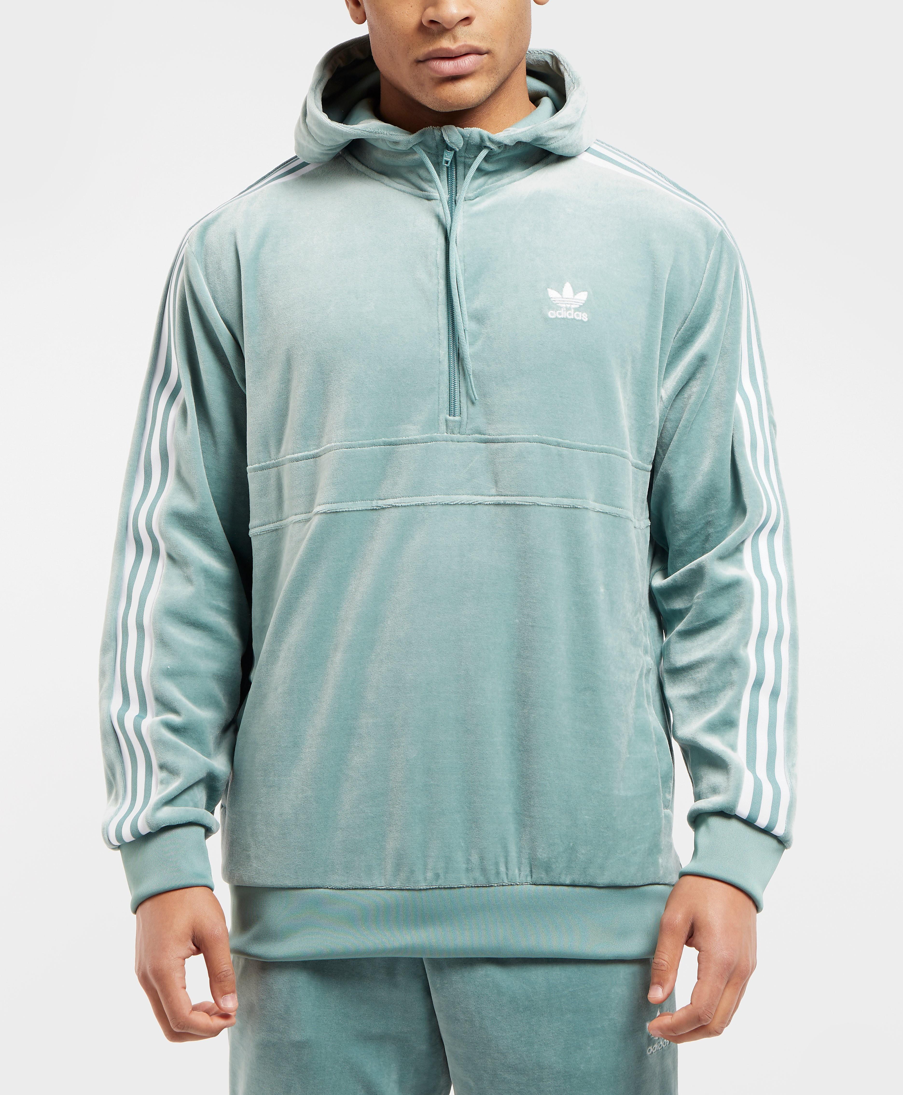 adidas Originals Cozy Half Zip Overhead Hoodie