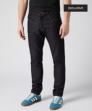 Aquascutum Five Pocket Slim Tapered Fit Jeans - Exclusive
