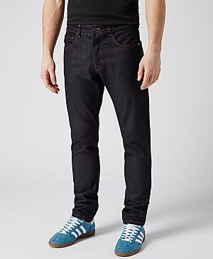 Aquascutum Five Pocket Slim Tapered Fit Jeans - Exclusive