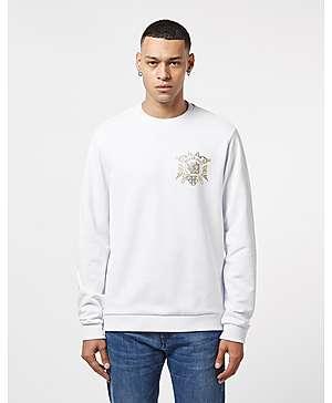 77a97af00210 Versace Jeans Foil Logo Sweatshirt ...