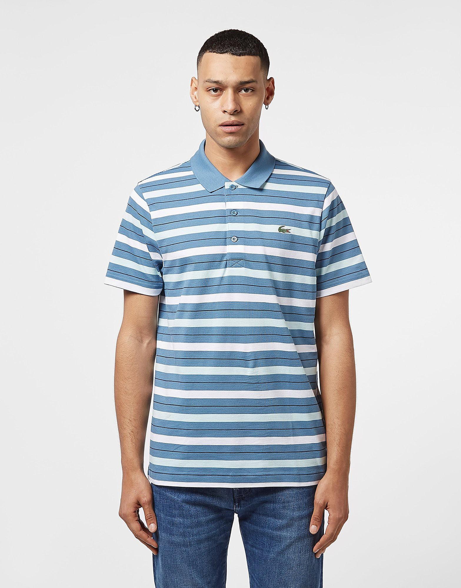 Lacoste Short Sleeve Stripe Polo Shirt