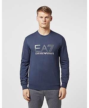 b31e9e2f281 Emporio Armani EA7 Carbon Logo Crew Sweatshirt ...