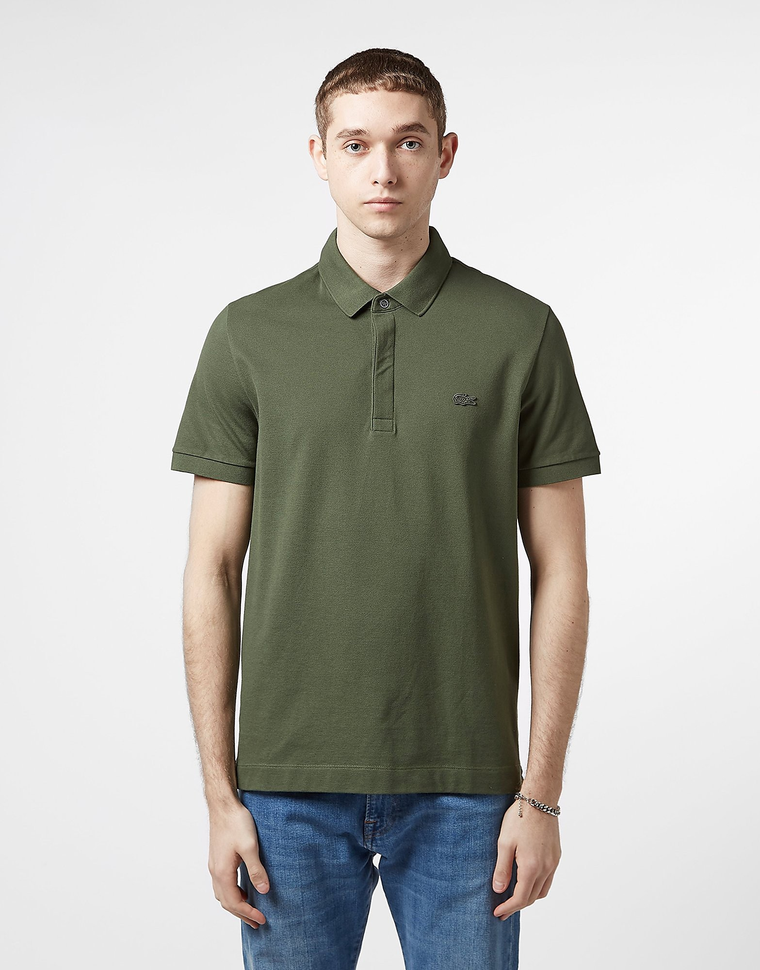 Lacoste Short Sleeve Paris Polo Shirt