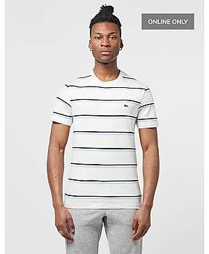796bb57cab1d Lacoste Stripe Short Sleeve T-Shirt ...