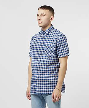 86244a2f8 Lacoste Short Sleeve Check Shirt Lacoste Short Sleeve Check Shirt