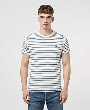 6a53a4b16e7 Fred Perry Fine Stripe Short Sleeve T-Shirt ...