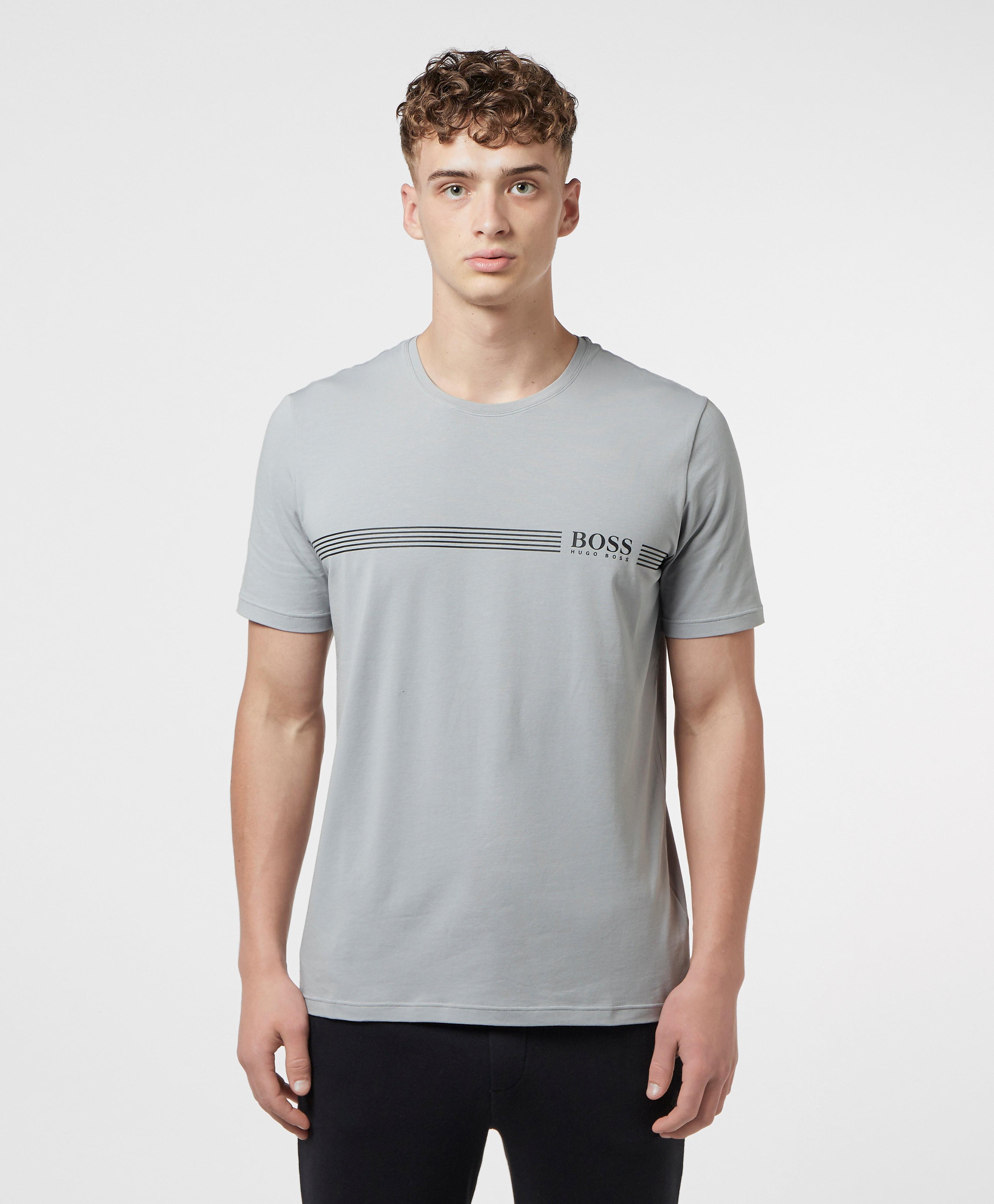 BOSS Line Logo Short Sleeve T-Shirt